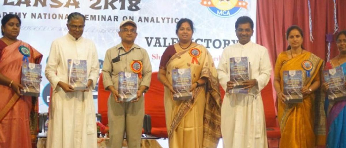 Seminar held on Big Data Analytics