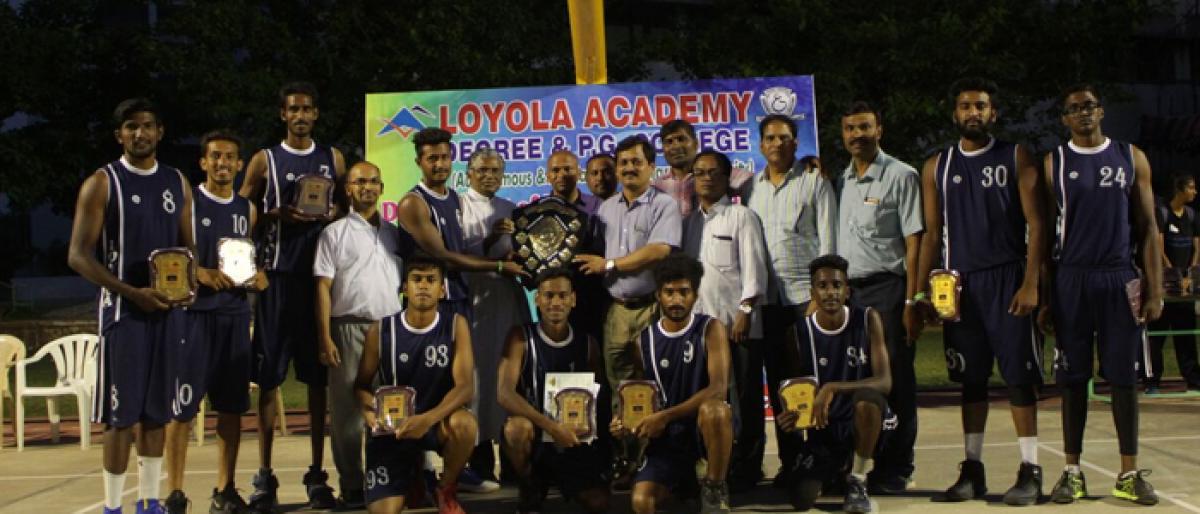 Double for Loyola boys