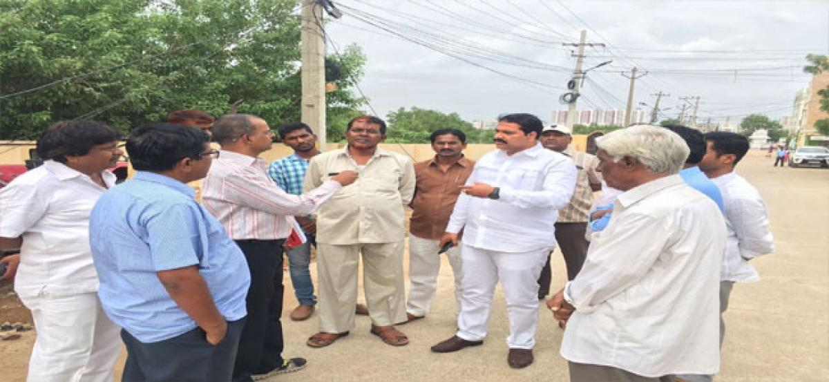 'Mission Bhagiratha works will be completed soon'