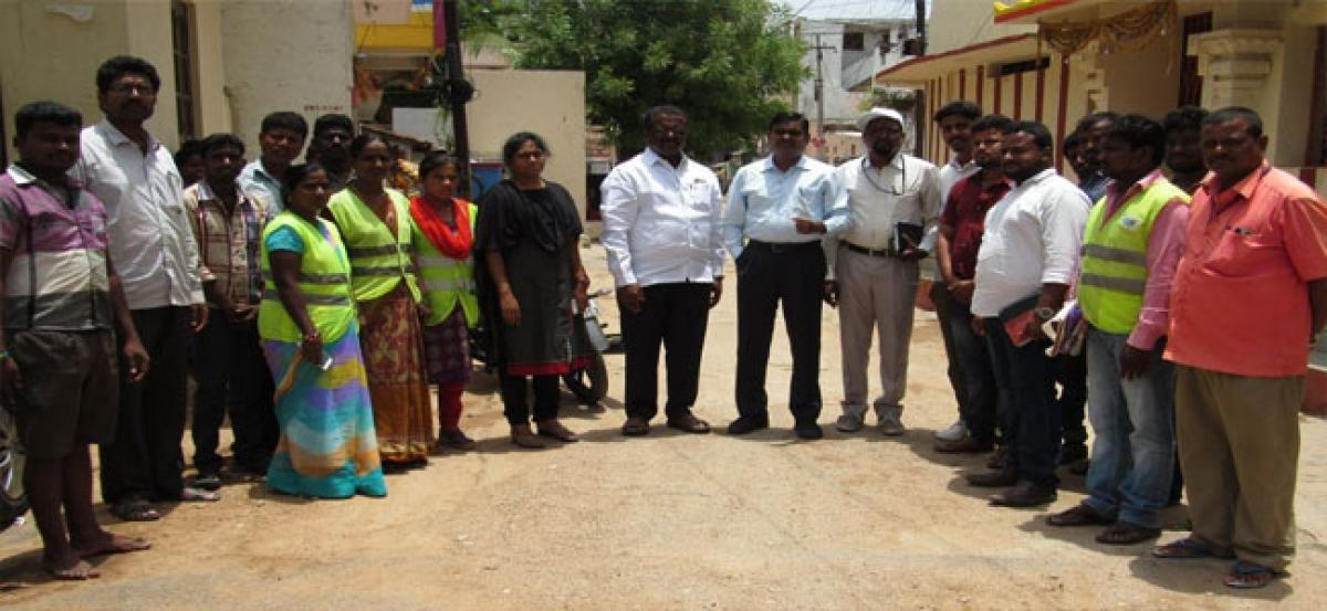 Pannala stresses on maintaining cleanliness
