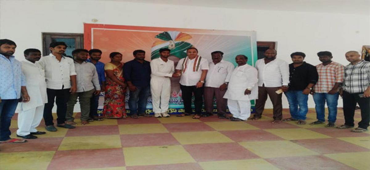 Manikanta gets place in TCA