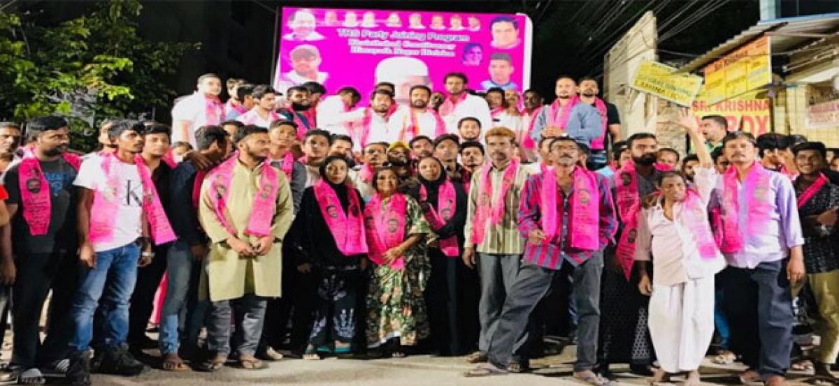 Goverdhan leads youth into TRS party fold