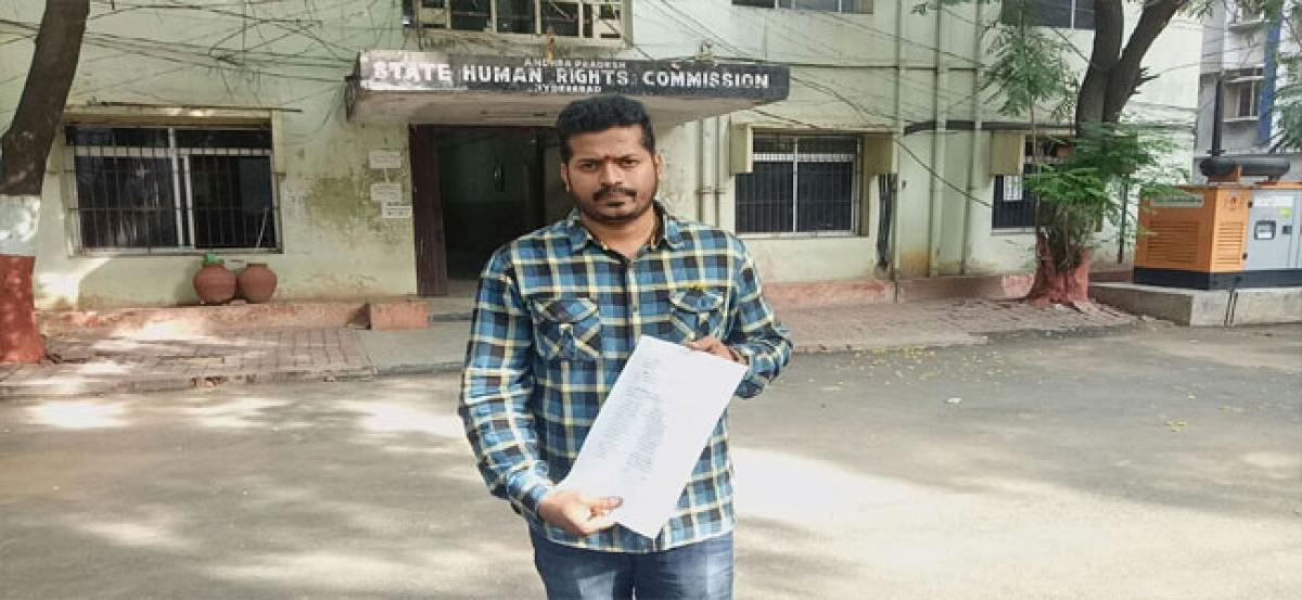 Man approaches SHRC seeking action against CI