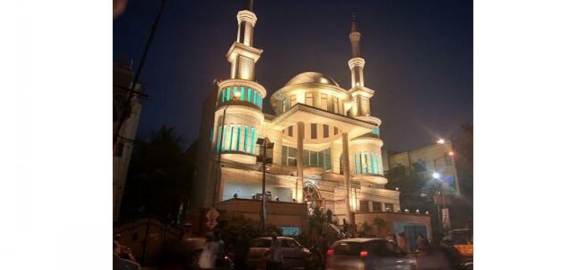 Open Mosque at Masjid-e-Quba today