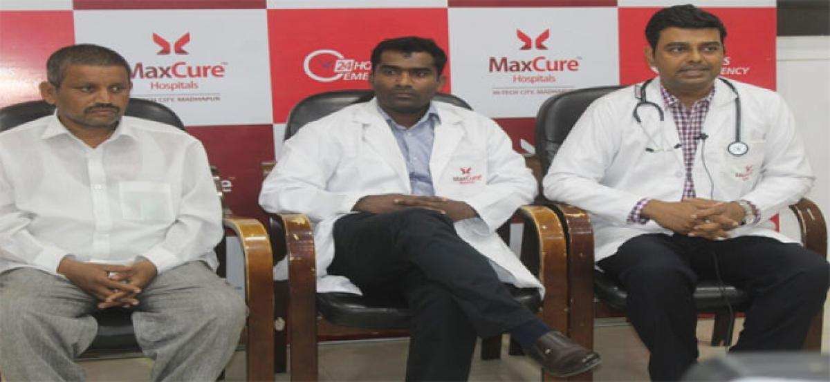 Anti-migration procedure at Maxcure Hospital saves 41-yr-old man