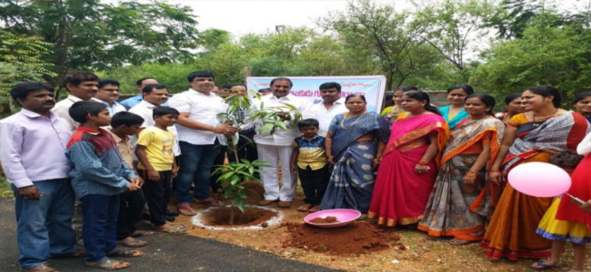 Awareness programme on rain harvesting pits held