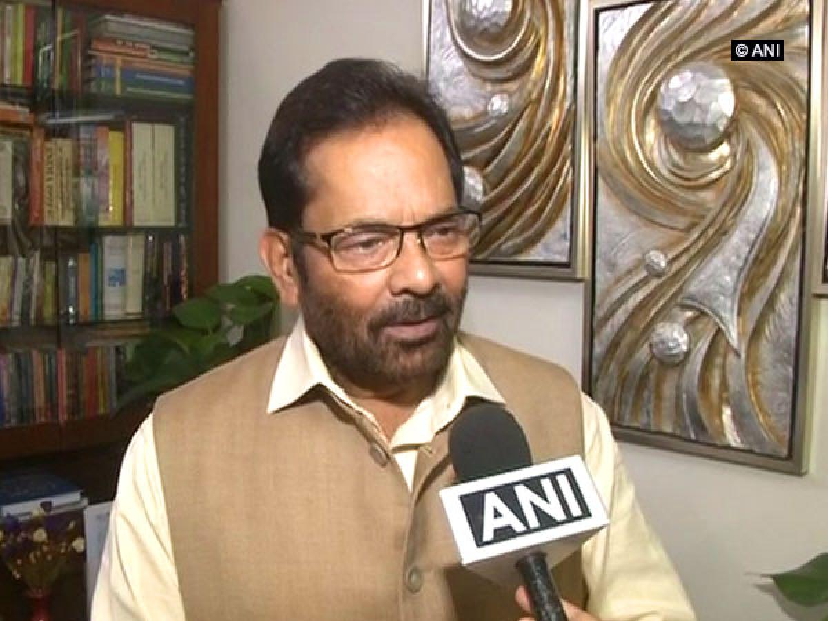 Naqvi calls Rahul Gappu, says his political journey is full of lies