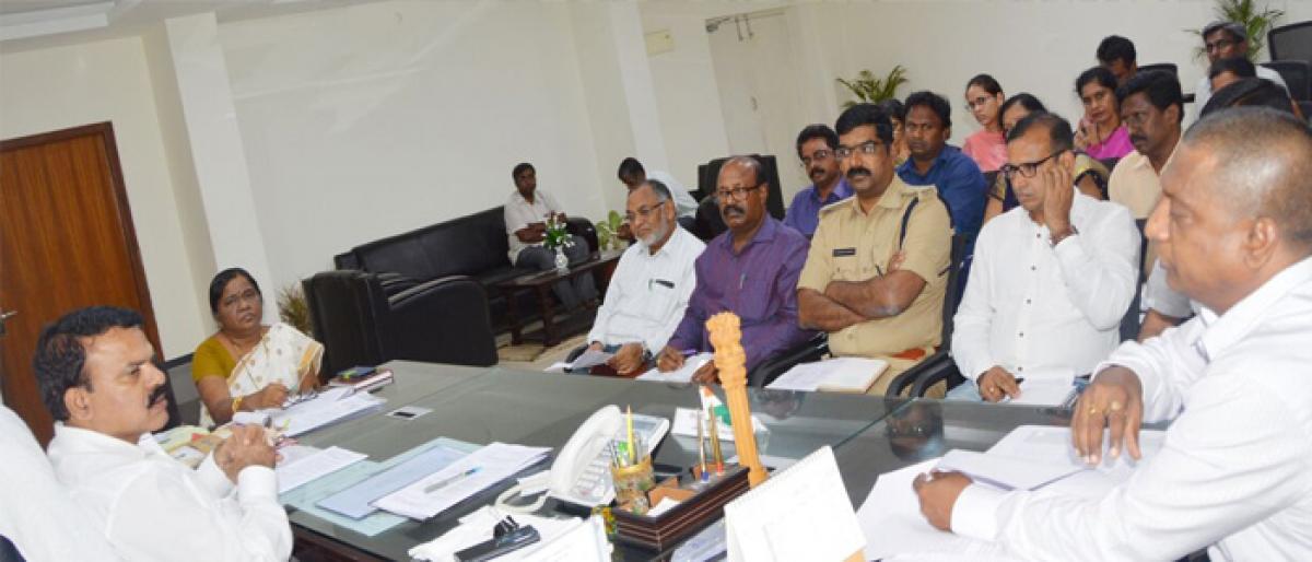 Medchal Collector reviews arrangements for panchayat polls