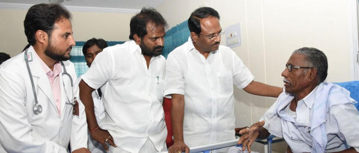 Govt to launch palliative care units in Mahbubnagar districts