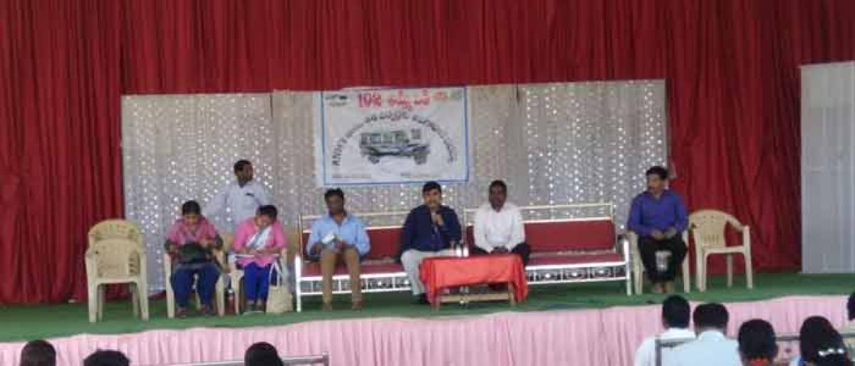 Awareness programme for ANMs, Asha workers held in Achampet
