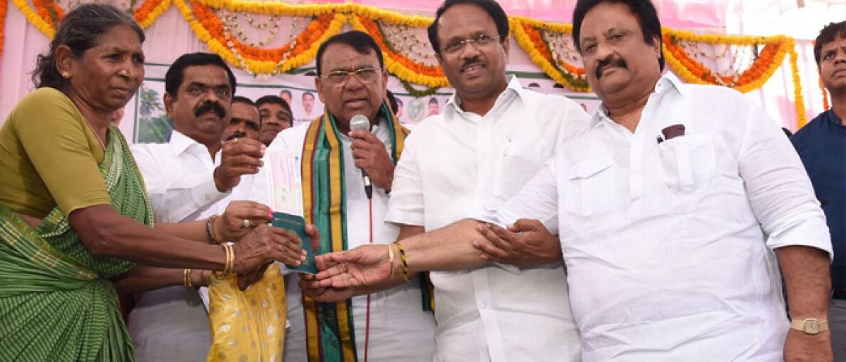 Rythu Bandhu scheme launched in Mahbubnagar
