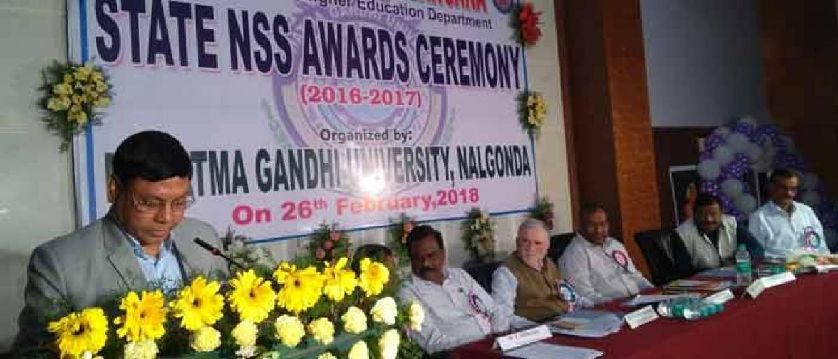 Services of NSS volunteers lauded