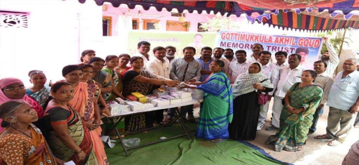 Free medical camp at Vinayak Nagar