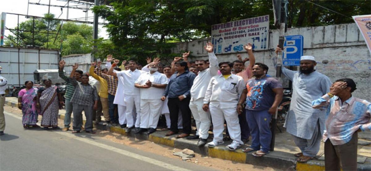 BJP says no to Metro staircase