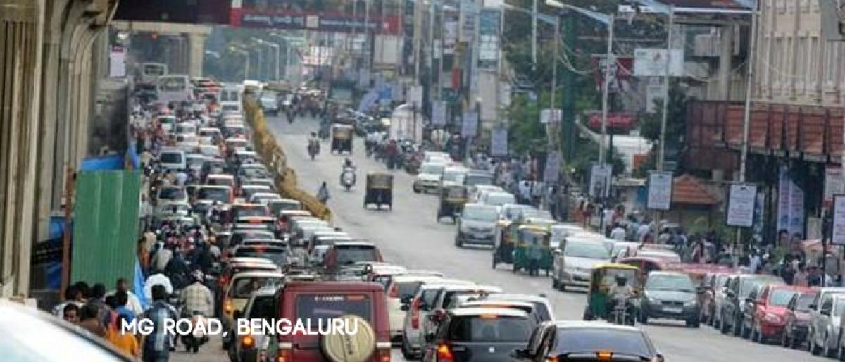 MG Road in bangalore might get skywalk in four months