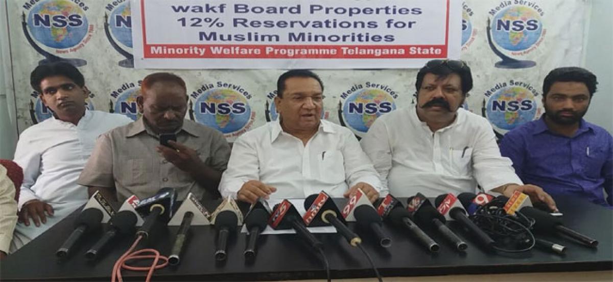 Minority body demands 'judicial powers' to Wakf