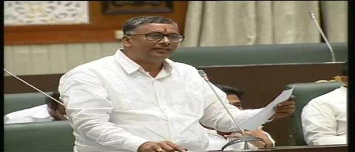 MLA spreads awareness on Central govt scheme