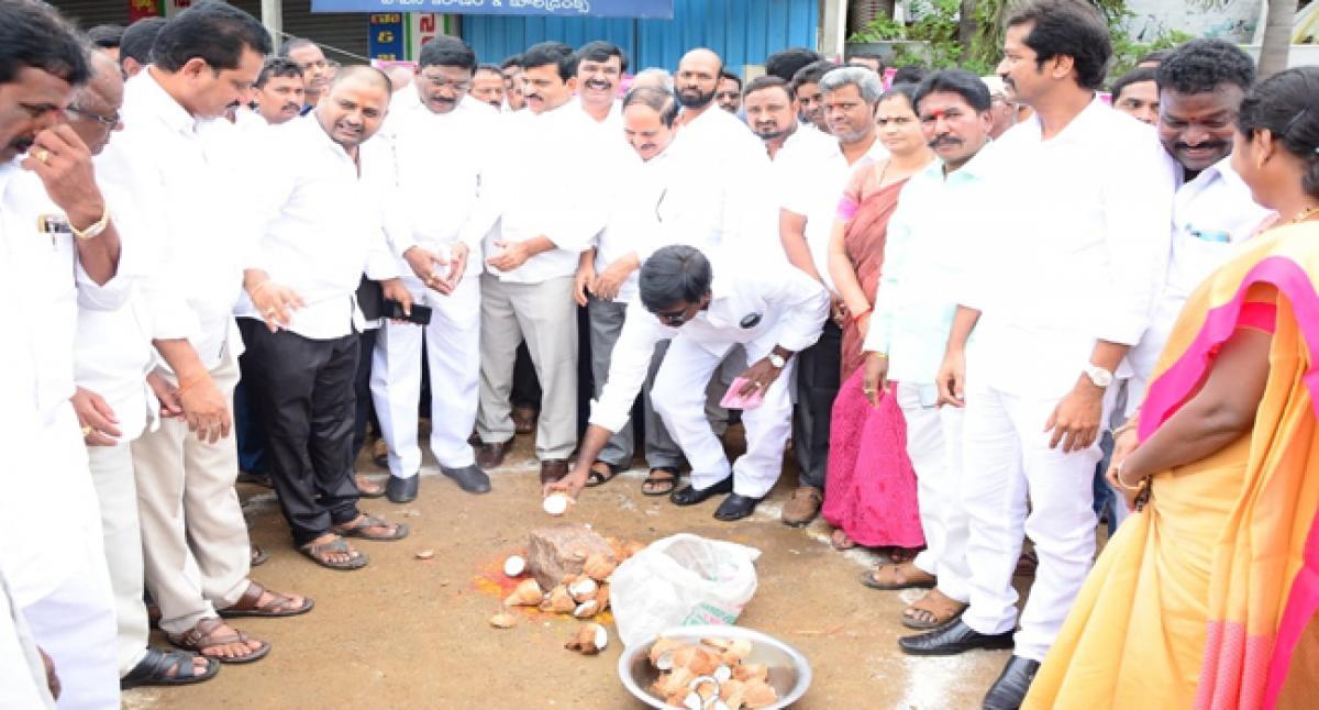 Telangana Govt committed to all-round development of Khammam: MLA Puvvada Ajay Kumar