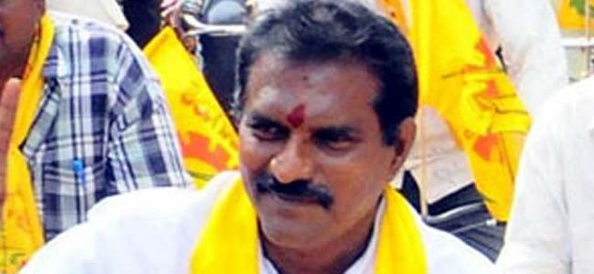 Contractor Complains Against TDP MLA To Police