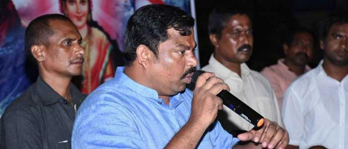 BJP MLA Raja Singh calls for an out-and-out Hindu nation
