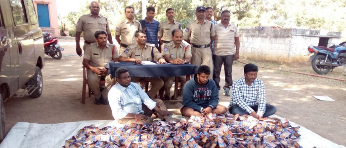 PD Act against gutka sellers