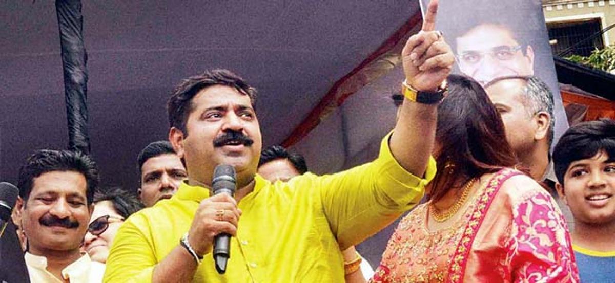 MNS, NCP call BJP MLA Ram Kadam Ravan for anti-women remark