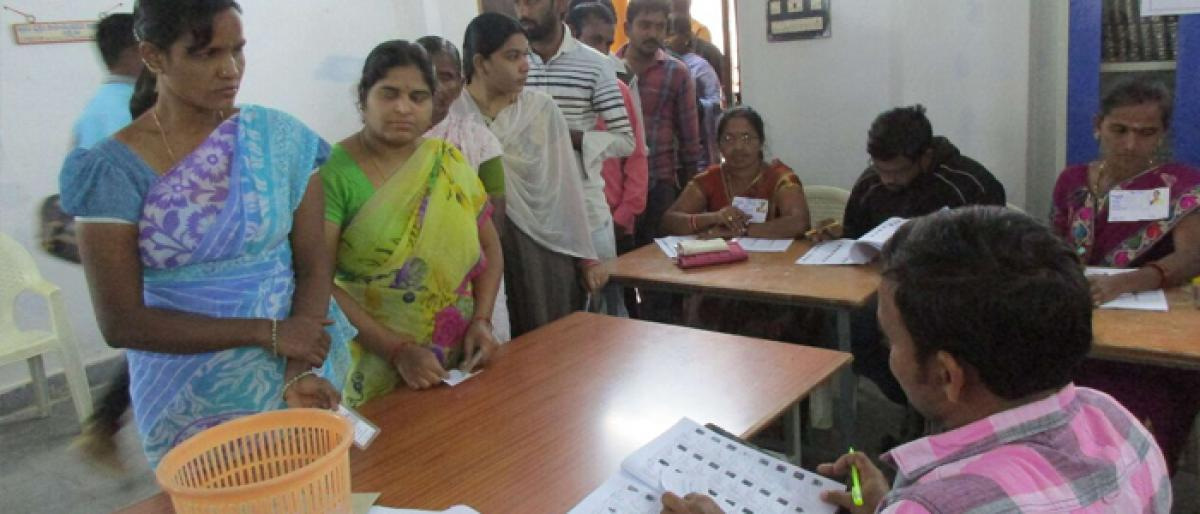MPTC by-election in Bhadrachalam
