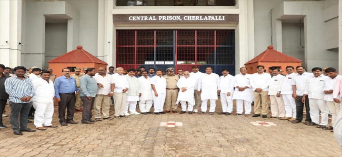 MPs visit Cherlapalli Central Prison