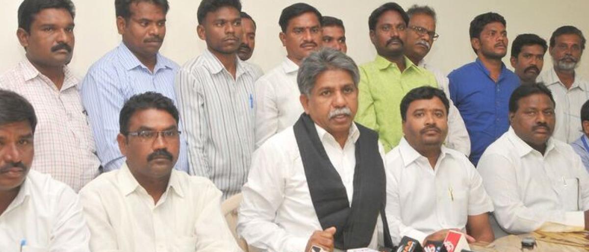 Spell your stand on SC categorisation: Manda Krishna Madiga
