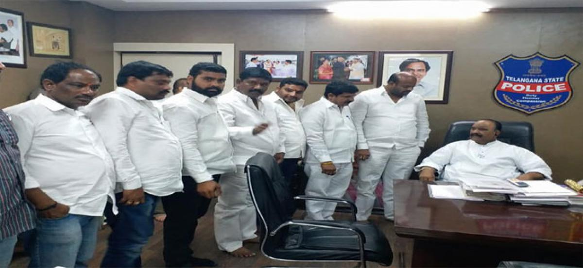 Muddagouni asks Naini to release funds for development works