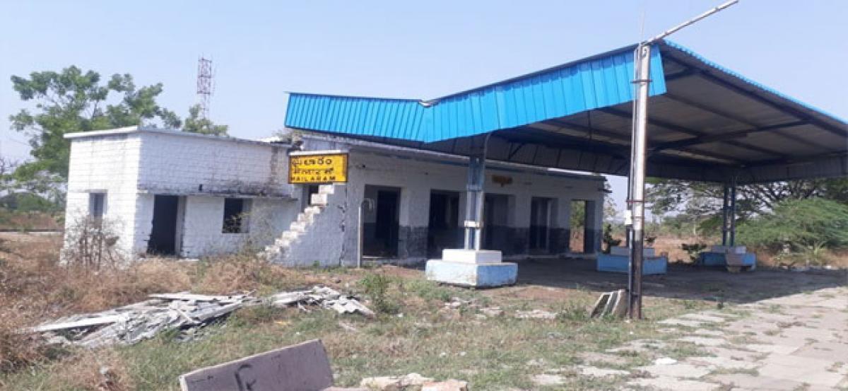 Problems galore at Mylaram railway station