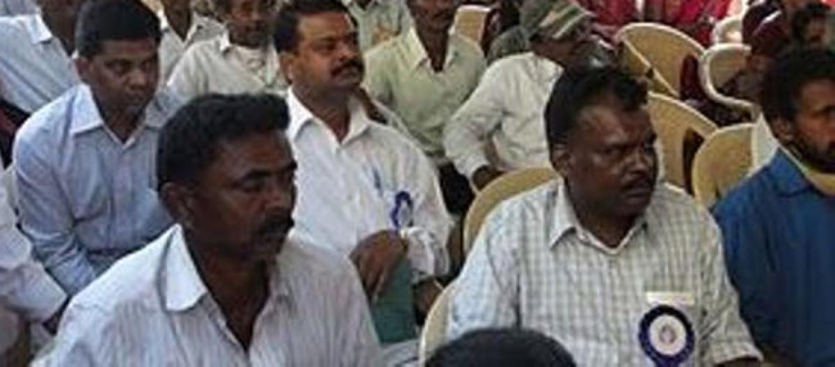 Madasi, Madari communities demand SC categorisation