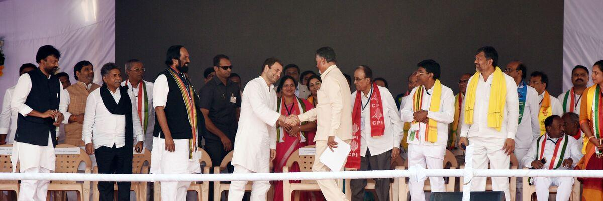 Rahul will be outwitted by Naidu