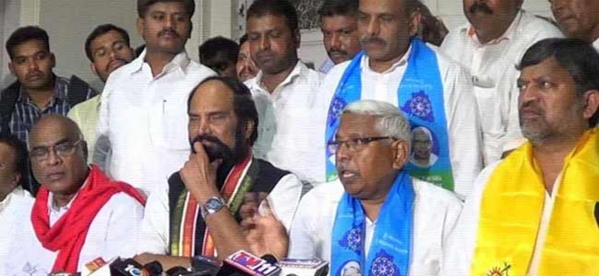 TJS, CPI may exit Mahakutami