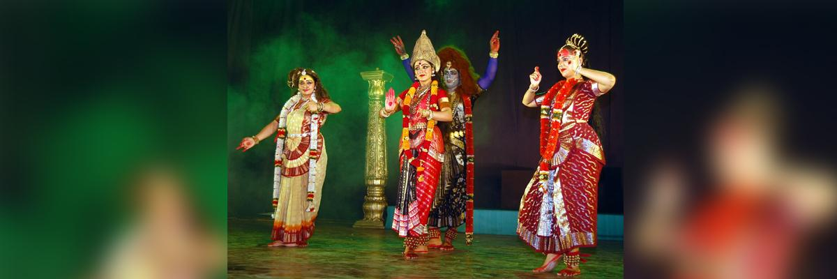 Mahasakthi dance feature gets applause