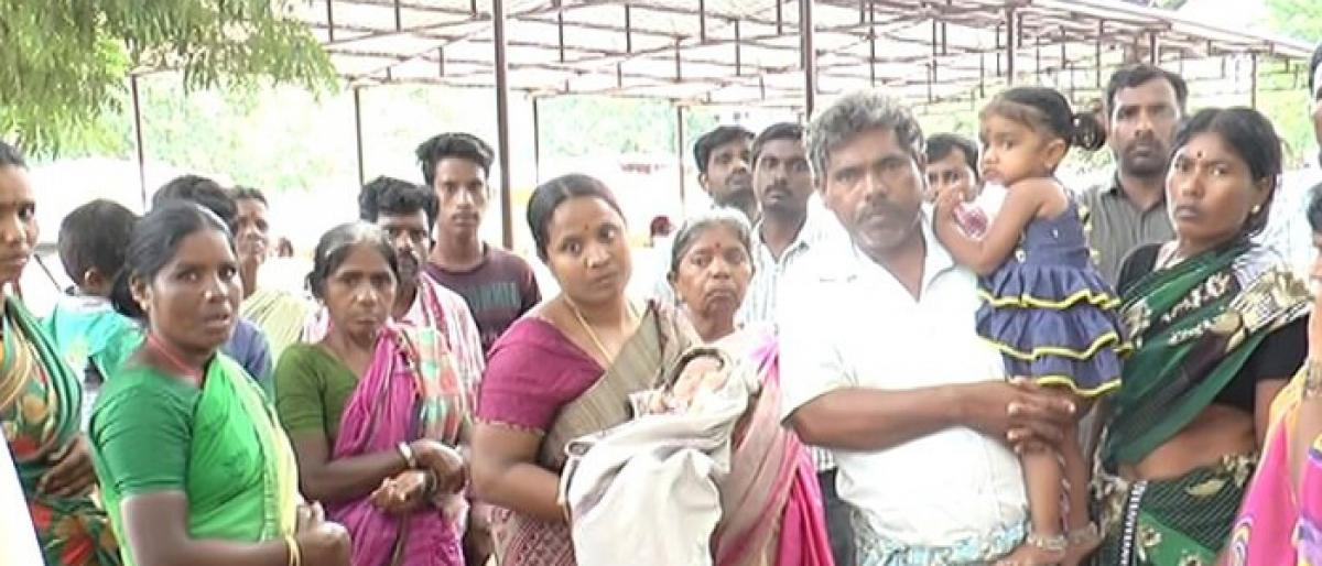 Woman's death triggers protest in Mahbubnagar