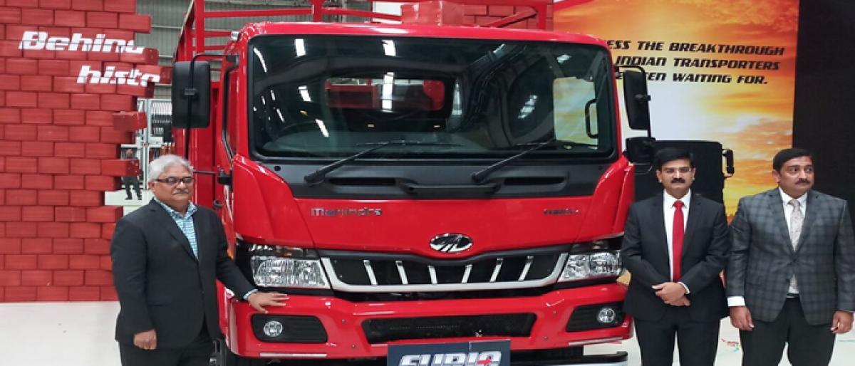 Mahindra unveils Furio, its new range of ICVs