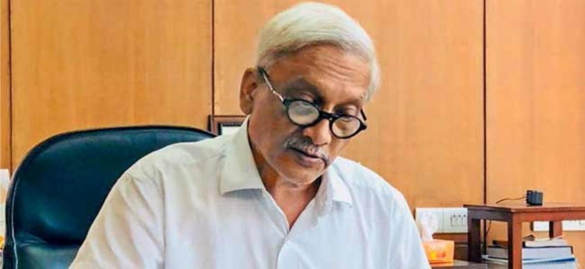 Ailing Goa CM Parrikar speaks to Amit Shah, his work load to be reduced