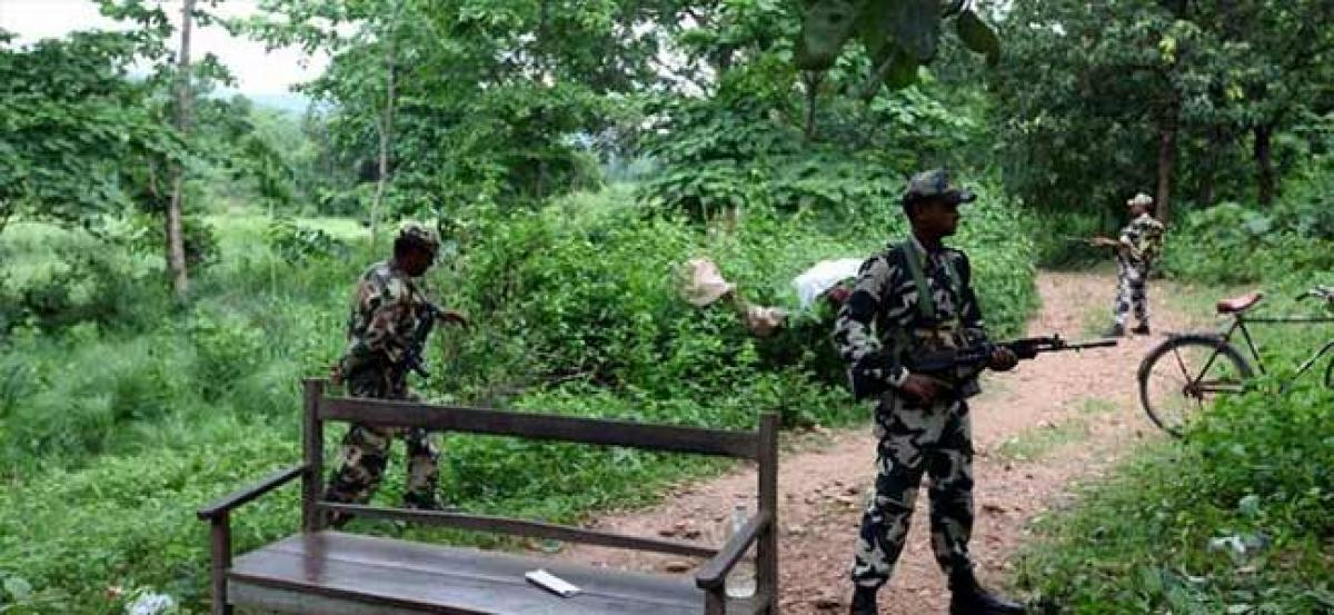 Maoists rushed to Odisha dense forest
