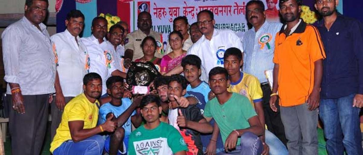 Marikal youth wins Kabaddi Tournament