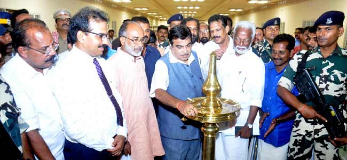 Nitin Gadkari inaugurates India