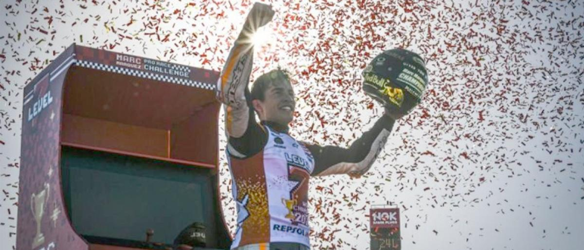 Marquez claims 7th world title