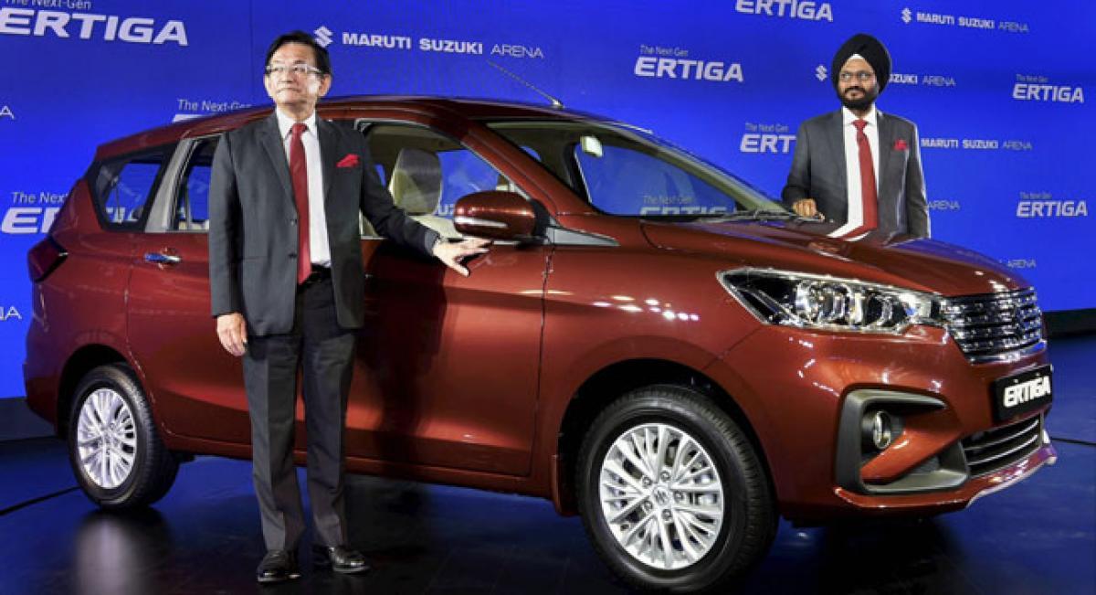 Maruti drives in new Ertiga at 7.44L