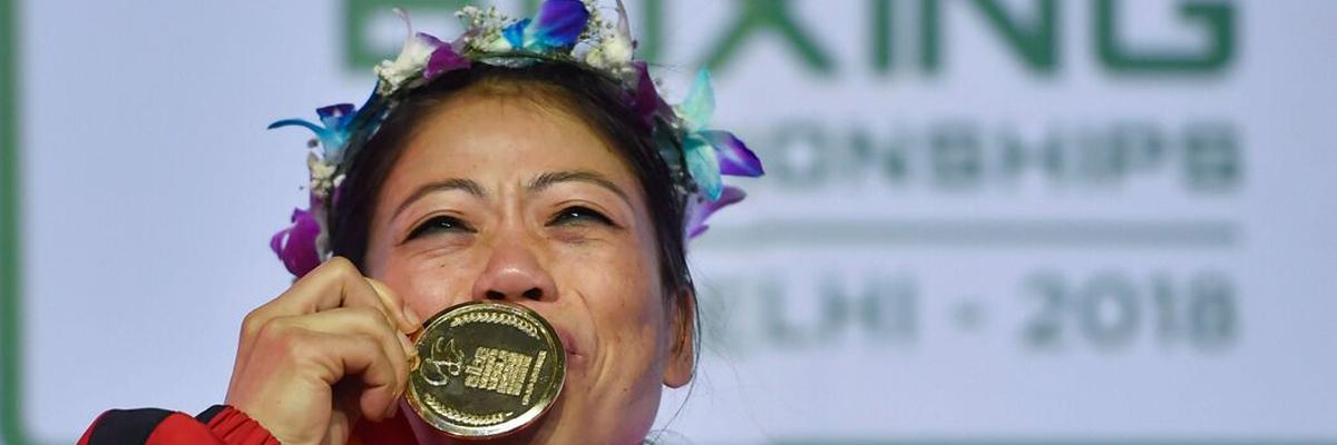 Magnificent Mary lifts record 6th gold