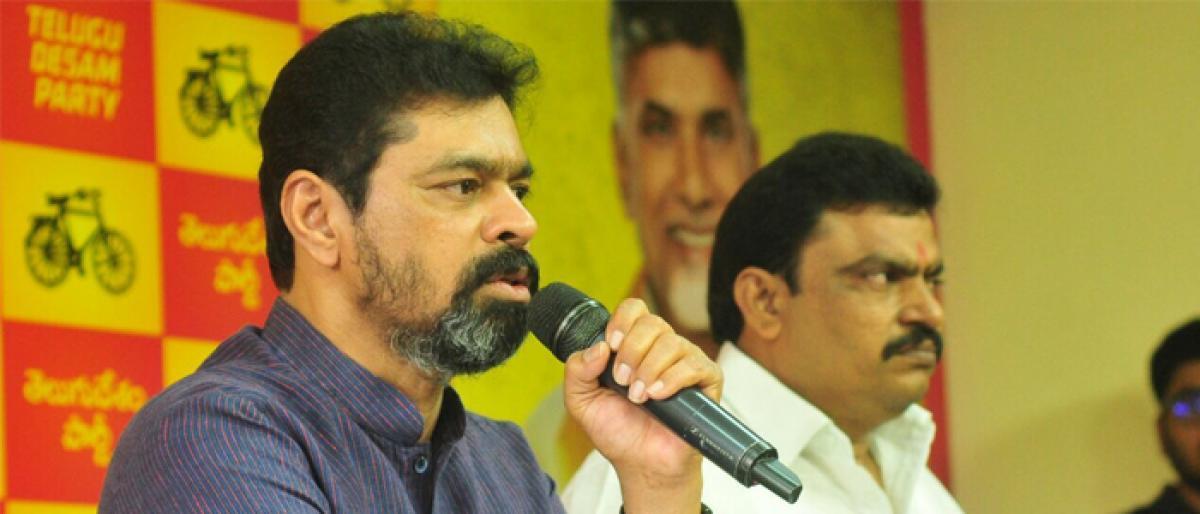 CM Ramesh terms I-T raids as clear-cut case of political vendetta