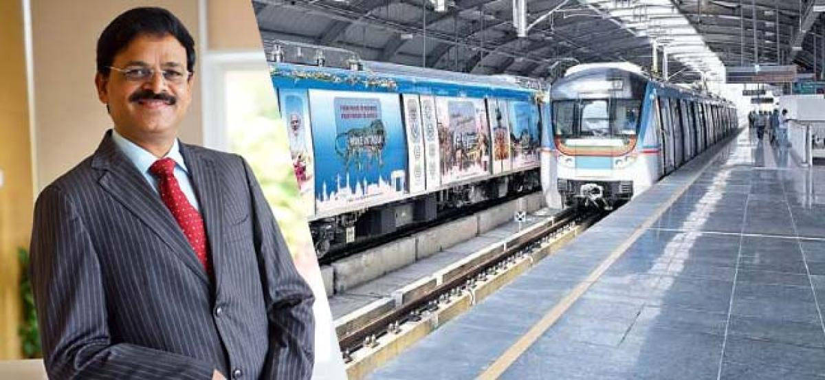 Hyderabad Metro Rail sets record, touches 20 million mark