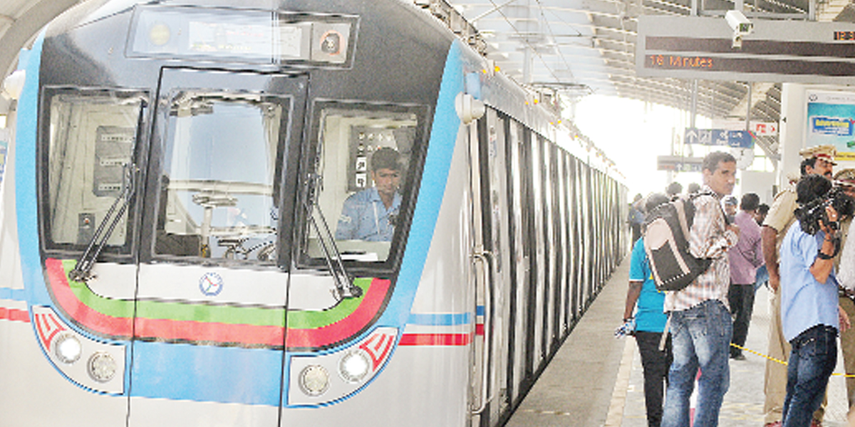 High passenger turnout for Metro on New Year's Eve