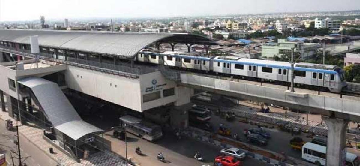 Hyderabad Metro has record footfall on its newly inaugurated LB Nagar- Miyapur service line