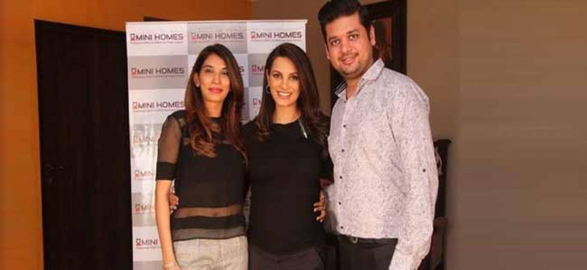 Ex-Miss World Diana Hayden signed up as the brand ambassador for Mini Homes