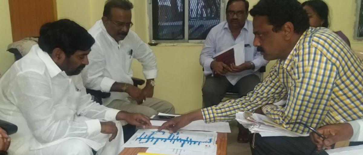 Minister Jagadish Reddy sets deadline for Sri Ram Sager project works